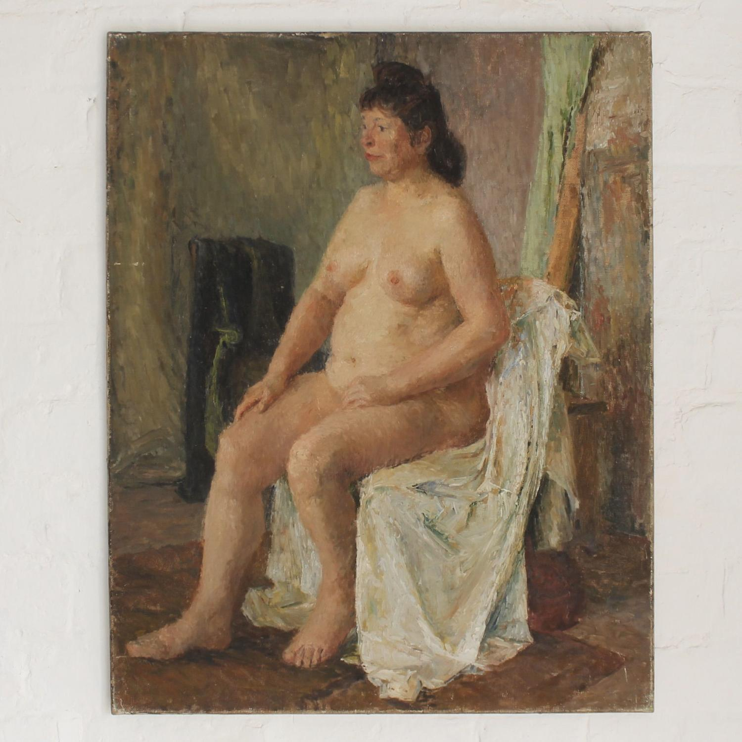 Plump Female Nude