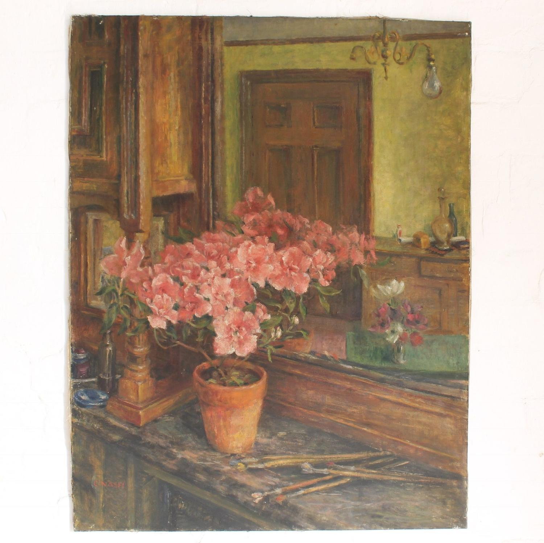 Interior Study with Pot Plant