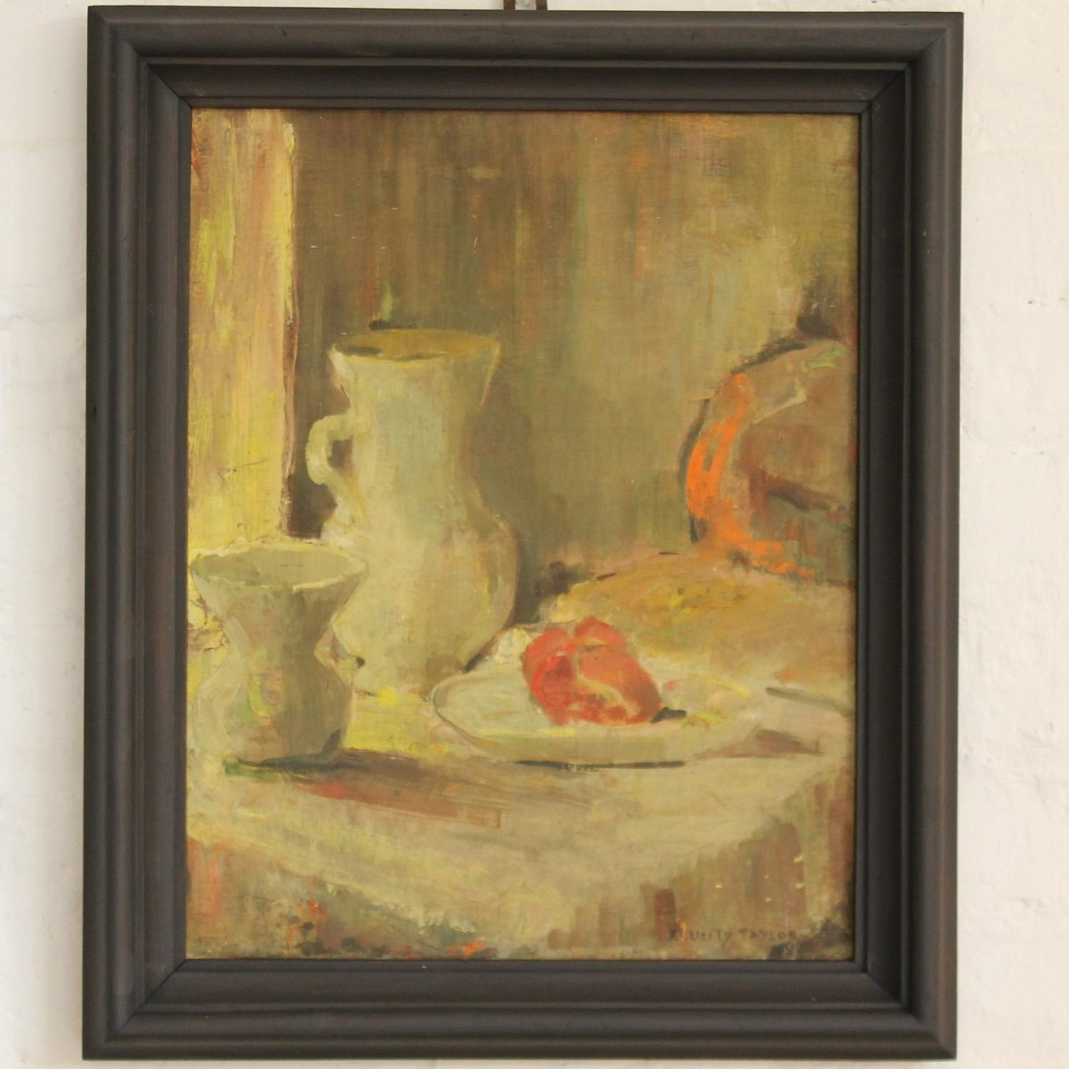 Still Life With Red Pear