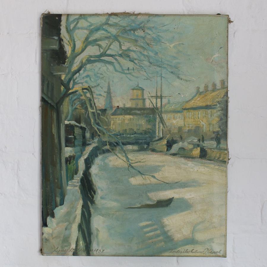 Danish Canal Scene