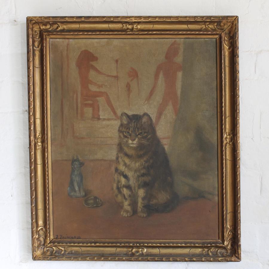 Naive Cat Portrait