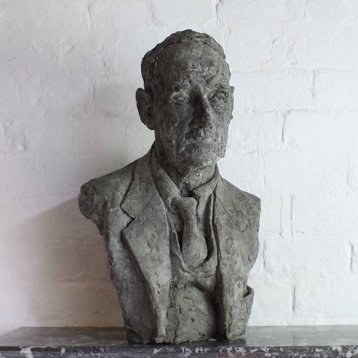 Sculpture Of An Elderly Gentleman