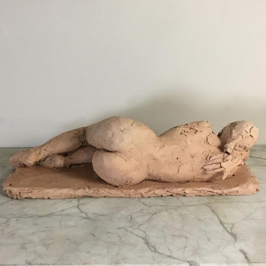 Reclining Female Nude Sculpture