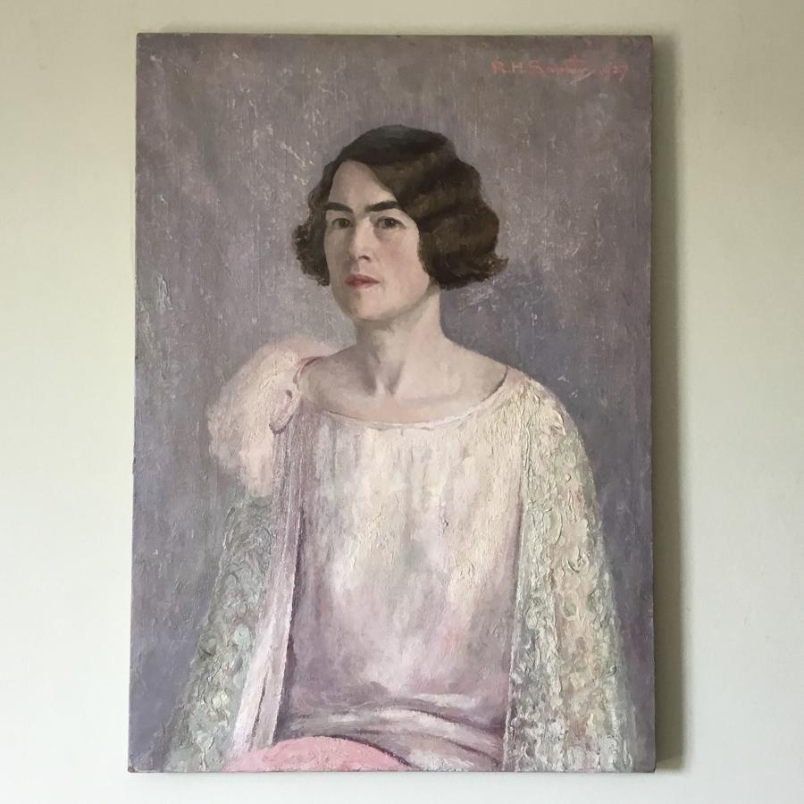 1920s Portrait of a Lady