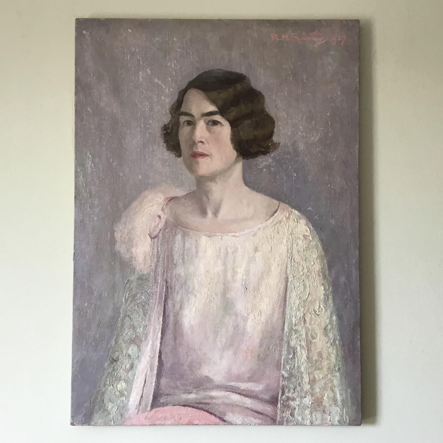 1920s Portrait of a Lady