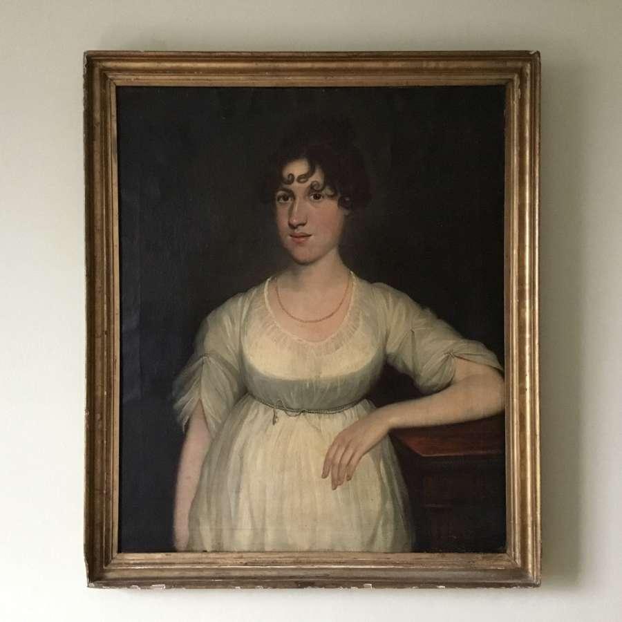 English Regency portrait of Ann Elizabeth Scott