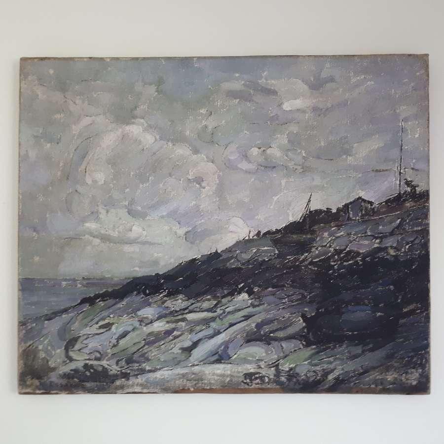 Coastal study of Honfluer