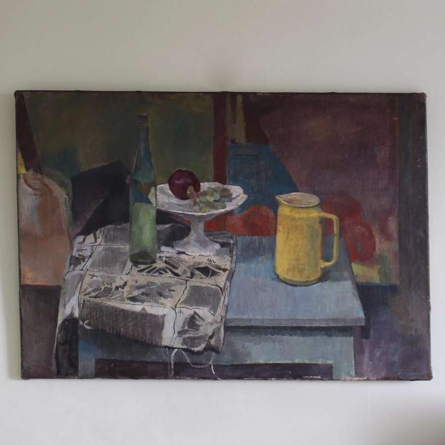 Still Life with Yellow Jug