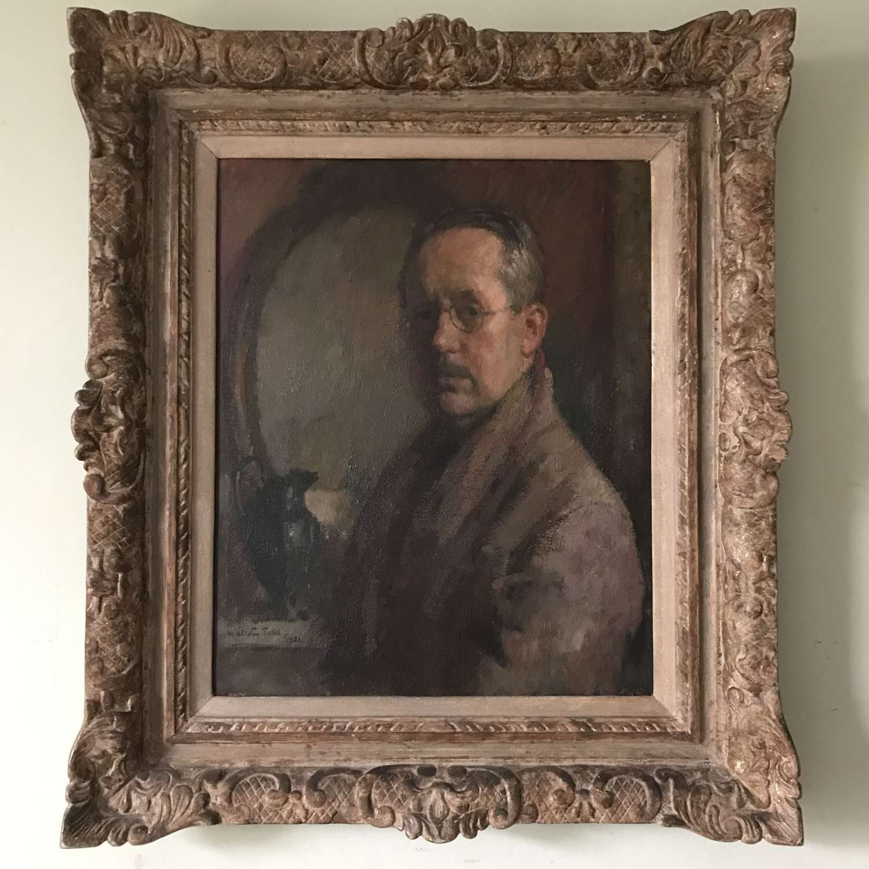 Self portrait by Arthur Ralph Middleton Todd