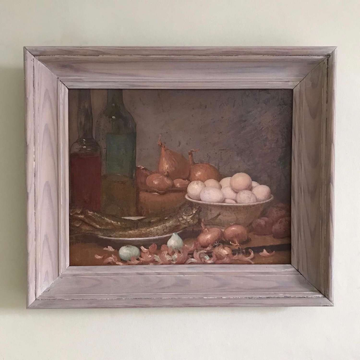 Still Life with Bowl of Eggs