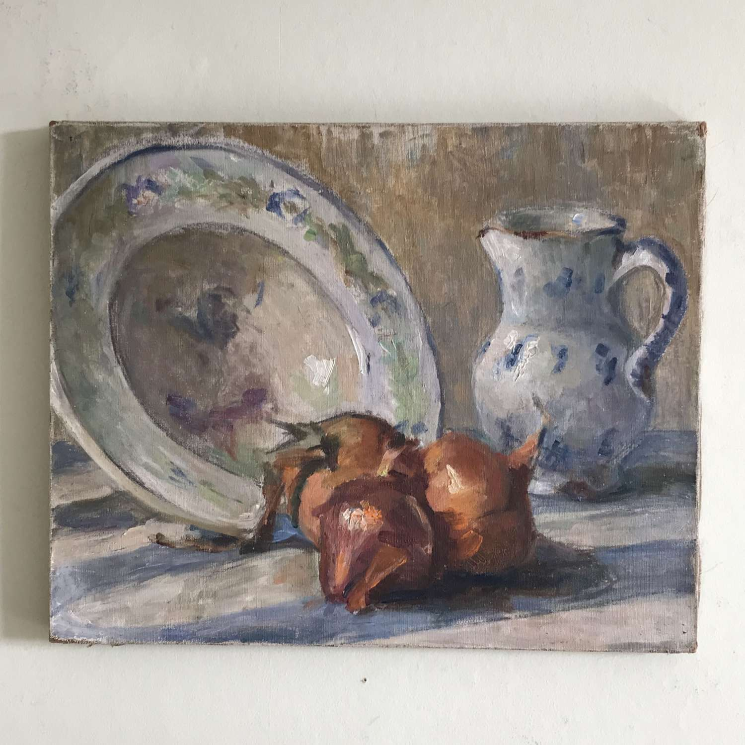 Still Life with Jug, Bowl and Onions
